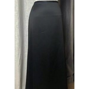 JS Collections Sz 12 Full-Length Black Skirt